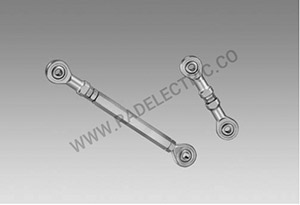 Torque arm M6, length 425-460 mm